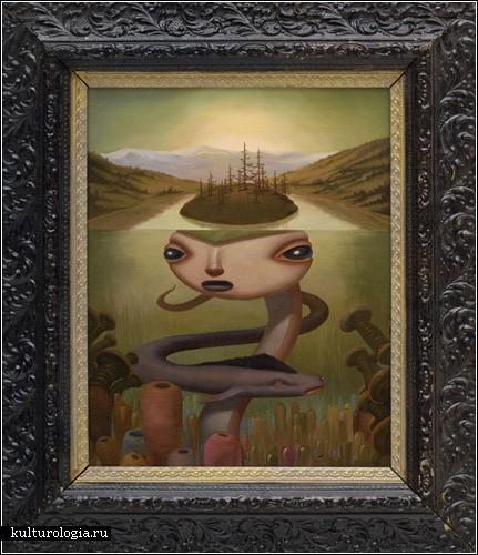 Фантастическая фауна Северной Америки в живописи Cкотта Масгроува
