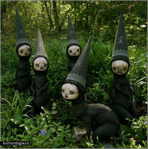 <br>Странные и трогательные куклы Скотта Радке