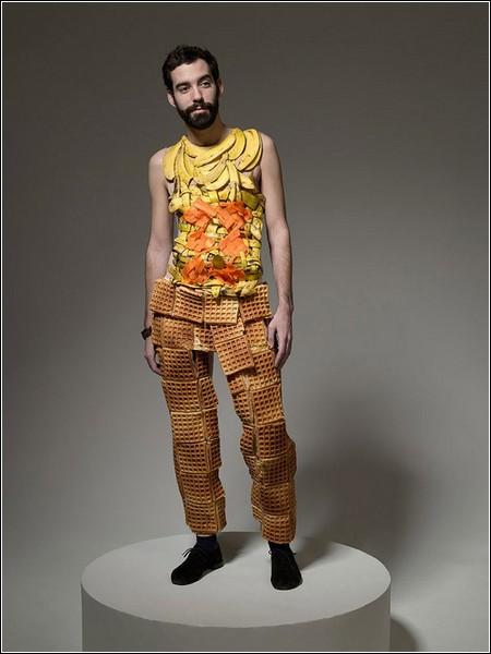 Съедобные наряды в фотопроекте Теда Себарезе