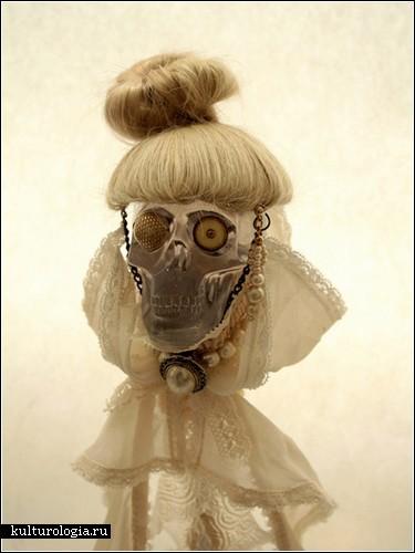 Странные викторианские куклы Сейко Като