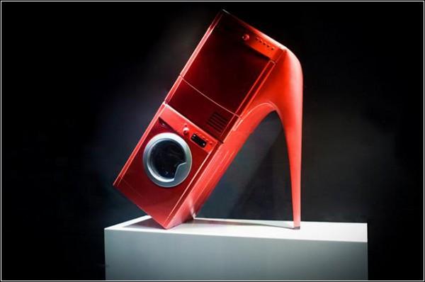 Туфли-миксеры и туфли-утюги в витринах Selfridges