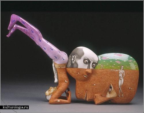 Сюрреализм в скульптурах Сергея Исупова