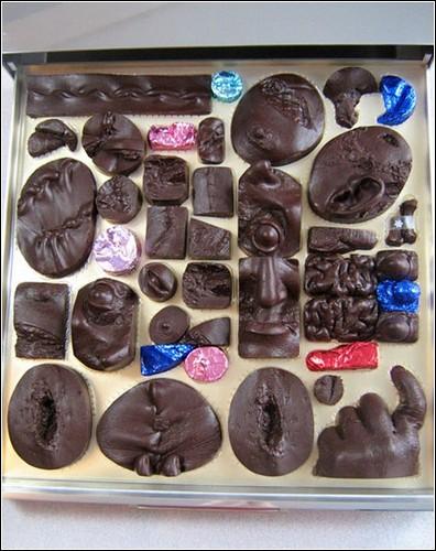 Шоколадные скульптуры из морга. Творчество Стефана Шанабрука