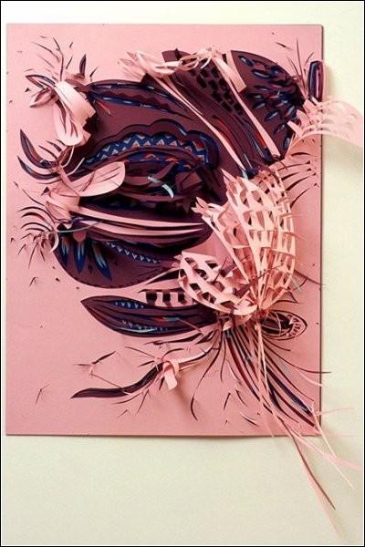 Затейливые бумажные скульптуры Симоны Лоуренсо