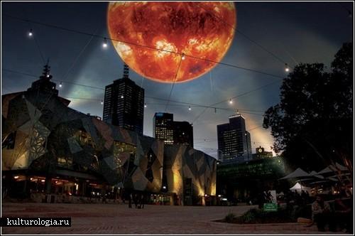 Solar Equation – ночное Солнце над Мельбурном