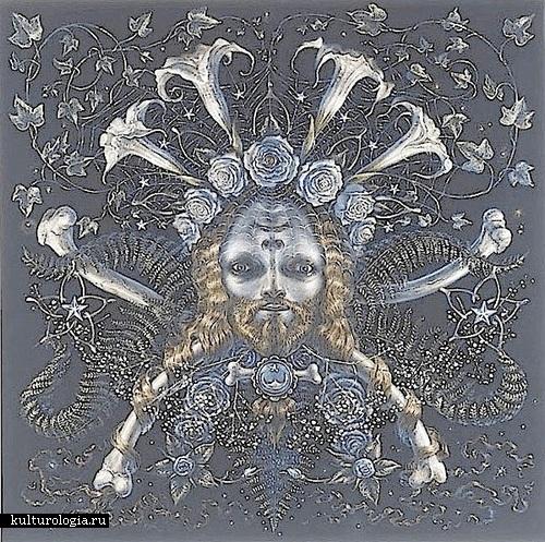 Земля. Солнечная система художника иллюстратора Томаса Вудраффа