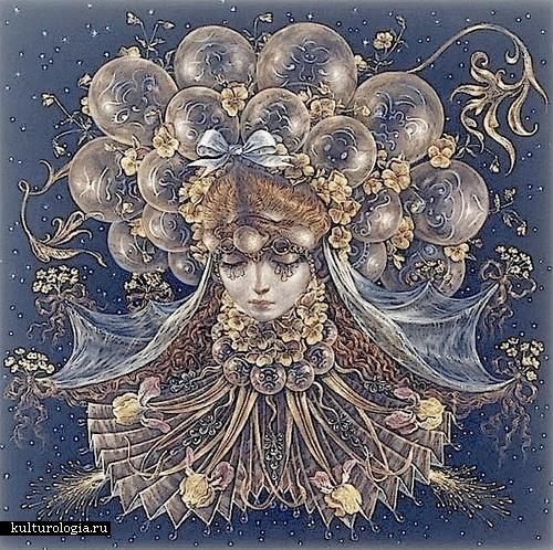 Юпитер. Солнечная система художника иллюстратора Томаса Вудраффа