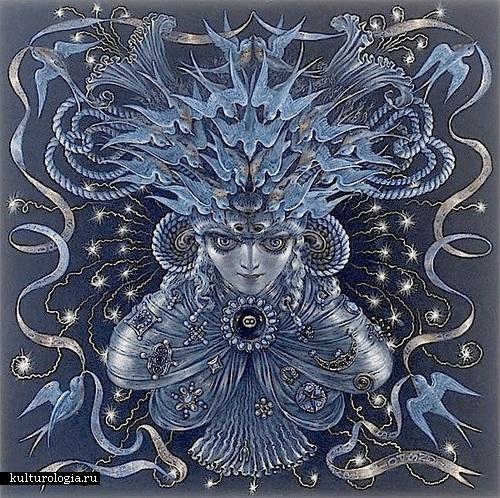 Нептун. Солнечная система художника иллюстратора Томаса Вудраффа