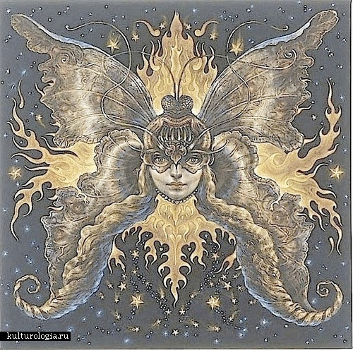 Венера. Солнечная система художника иллюстратора Томаса Вудраффа