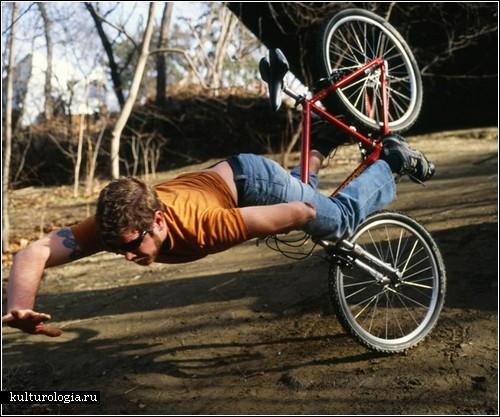 Невероятные падения в фотопроекте Керри Старбакка