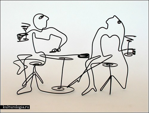 Проволочные скульптуры Стива Лохмана