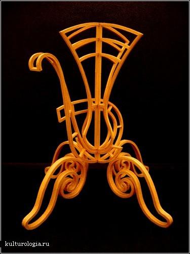 Скульптуры из зубочисток от Стивена Бекмена