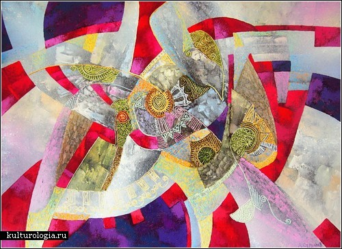 Абстракция и гармония в картинах Димы Стрелкофф