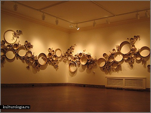 Инсталляции из макулатуры от Сьюзан Бенарчик