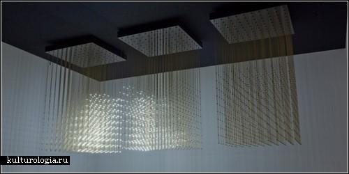 «Swarm Light» - рой светлячков в интерактивной скульптуре от «Random International»