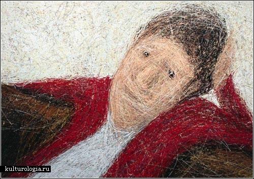 Картины-каракули Атсуши Такахаши