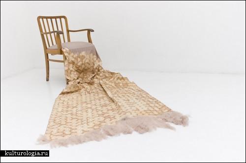Деревянный текстиль от Elisa Strozyk