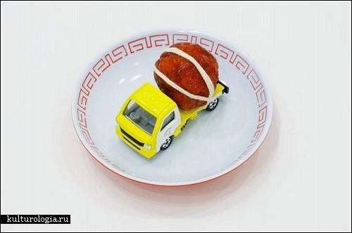 Скульптуры «tommy sushi» для любителей японской кухни