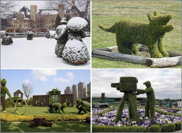 Зеленое искусство топиари