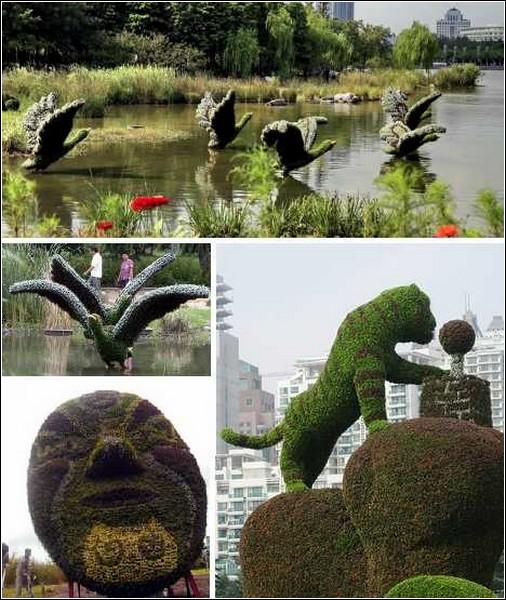 Удивительный шанхайский парк