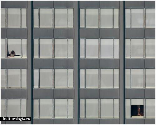 Чикагские небоскребы в фотопроекте Михаэля Вольфа «The Transparent City»