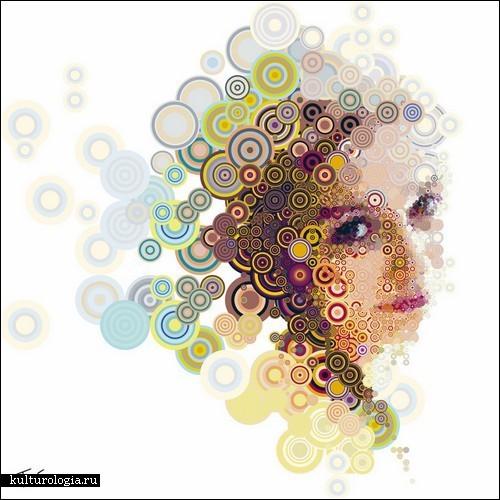 Мозаичные иллюстрации Чериса Цевиса
