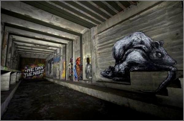 «Underbelly Project»: подземный стрит-арт в Нью-Йорке