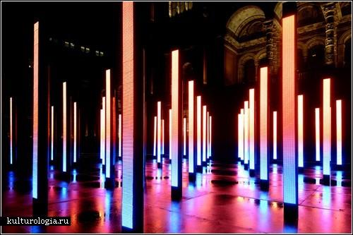 Volume – светящаяся инсталляция от United Visual Artists