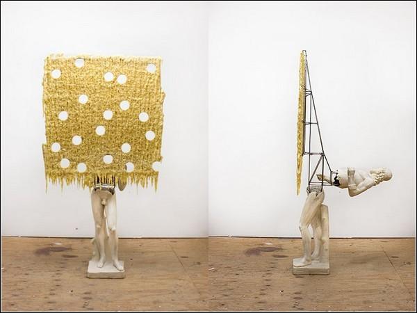 Ник ван Воерт любит разбирать скульптуры на части