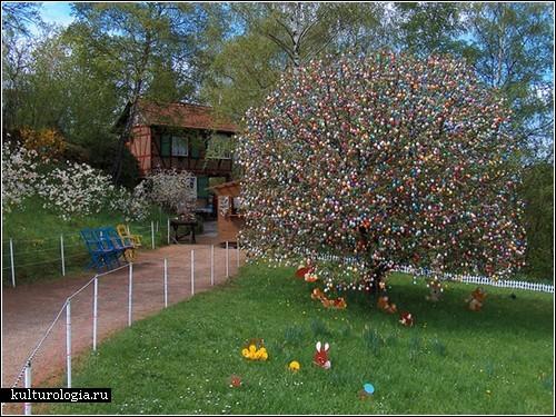 Пасхальное дерево Фолькера Крафта