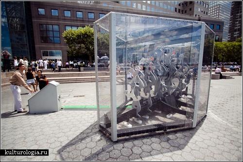 «Погодный маяк» - кинетическая скульптура Эрика Газмена
