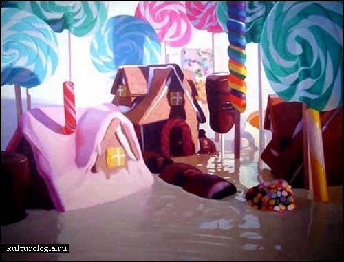 «Сладкая жизнь» на картинах Уилла Коттона
