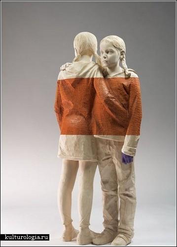 Деревянные скульптуры Вилли Вергинера