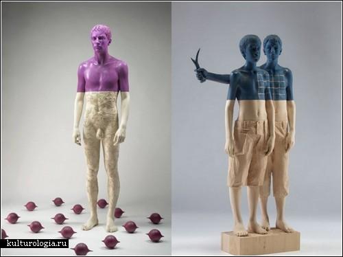 Деревянные скульптуры Вилли Виргинера