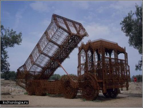 Готическая стройтехника от Уима Делвоя