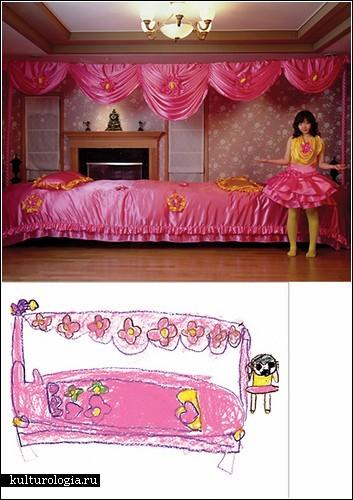 Детские рисунки в фотопроекте Yeondoo Jung