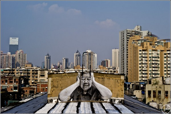 «Морщины города» - масштабный проект JR