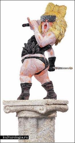 Медийные герои в скульптурах Yoo Young-Wun
