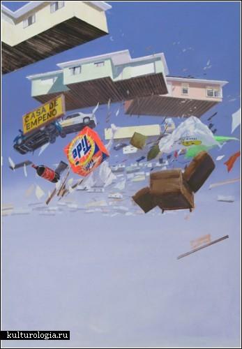 Нестрашные ураганы и землетрясения на картинах Адама Цвияновича (Adam Cvijanovic)