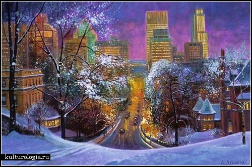 Живопись канадского художника Андриса Лейманиса (Andris Leimanis)