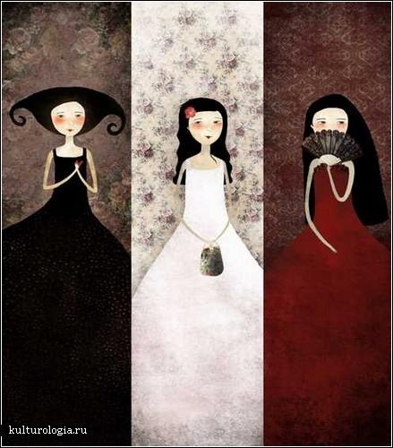 Dark art от Энн-Жюли Обри (Anne-Julie Aubry)