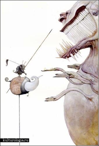 Сюрреалистичные картины Билла Кармэна (Bill Carmаn)