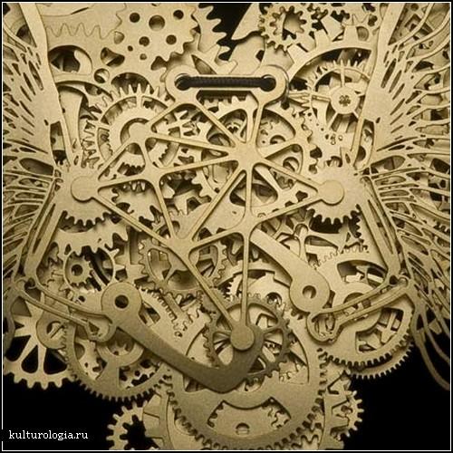 Украшения Clockwork Love. Коллекция сердец из часовых механизмов