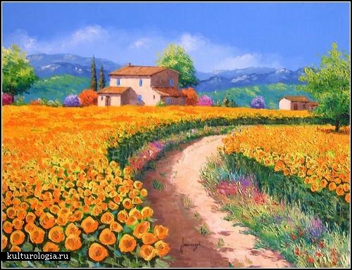 Позитивный импрессионизм французского художника Jean-Marc Janiaczyk