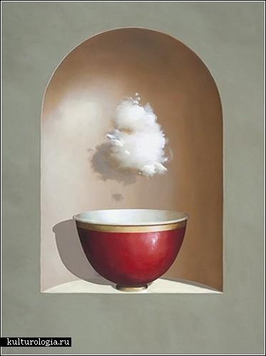 Живопись Джеффа Фауста (Jeff Faust), витающего в облаках художника-сюрреалиста
