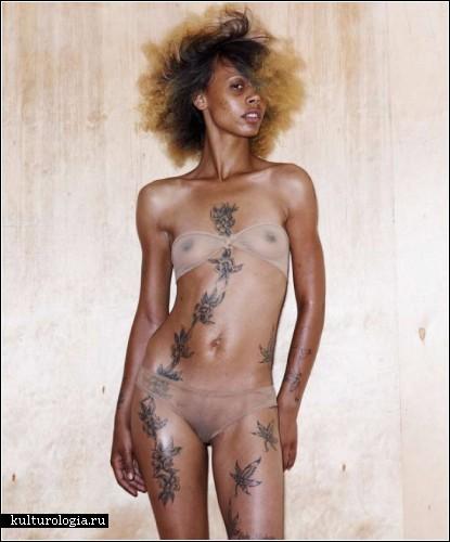 Татуированные барышни Лос-Анджелеса. Проект журнала Inked