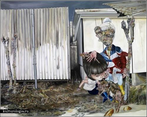 Психоделические картины расширенного сознания. Автор - Леопольд Рабус (Leopold Rabus)