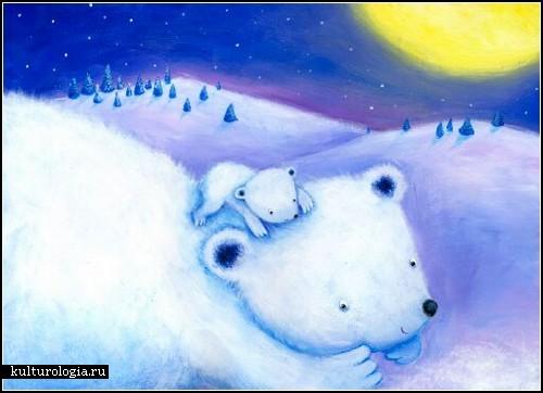 Детское и наивное в исполнении художницы Marijan Ramljak