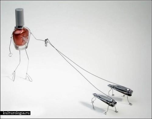 Истории из жизни неодушевленных вещей. Проект Bent objects фотографа Терри Бордера