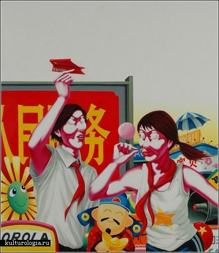 Политический арт-проект *Большие города* художника Чжао Бо (Zhao Bo)